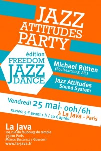 Jazz Attitudes Party Michael Ruetten
